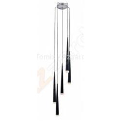 STYLO 8 CZARNY LAMPA WISZĄCA AZZARDO MD1220B-8 (BLACK)