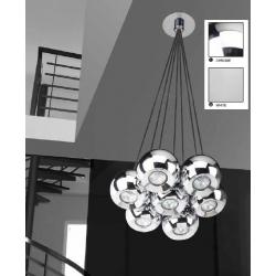 GULIA 7 LAMPA WISZĄCA AZZARDO FH5957-BJ-120 CHROM AZ0877