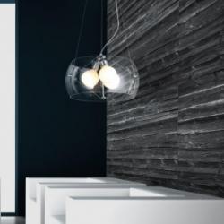 COSMO 2 CLEAR LAMPA WISZĄCA AZZARDO 2901-3PB (CLEAR)