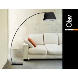 OLAV FL-10059 BLACK LAMPA PODŁOGOWA AZZRADO