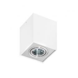 ELOY 1 GM4106 LAMPA NATYNKOWA AZZARDO ALUMINIUM/BIAŁY