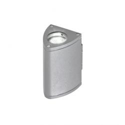 LUCA GM1102 KINKIET ZEWNĘTRZNY AZZARDO BRIGHT GRAY