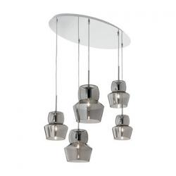 ZENO SP5 GRIGIO 99590 LAMPA WISZĄCA IDEAL LUX