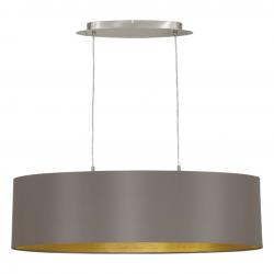 MASERLO 31614 LAMPA WISZĄCA ABAŻUR EGLO ---rabat w koszyku -5%  ---