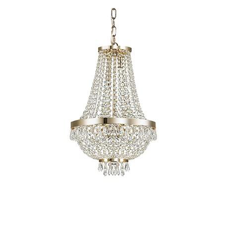 CAESAR SP6 114729 ORO ŻYRANDOL LAMPA WISZĄCA IDEAL LUX