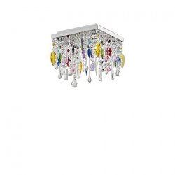 GIADA PL4 099200 COLOR LAMPA WŁOSKA PLAFON IDEAL LUX