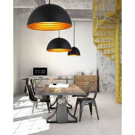 MODENA 40 LAMPA WISZĄCA FB6838-40 BLACK/GOLD AZZARDO