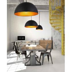 MODENA 50 LAMPA WISZĄCA FB6838-50 BLACK/GOLD AZZARDO