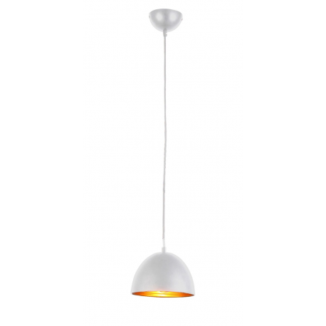 MODENA 18 LAMPA WISZĄCA FB6838-18 WHITE/GOLD AZZARDO