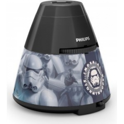 STAR WARS 71769/99/16 PHILIPS LAMPKA NOCNA - PROJEKTOR