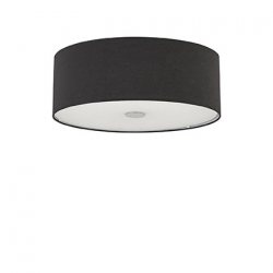 WOODY PL5 PLAFON 122212 NERO IDEAL LUX
