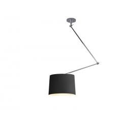 ADAM S LAMPA NA WYSIĘGNIKU CZARNA MD2299-S BK/SN AZZARDO