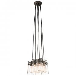 KL/BRINLEY6 Kichler Brinley LOFT LAMPA WISZĄCA ELSTEAD