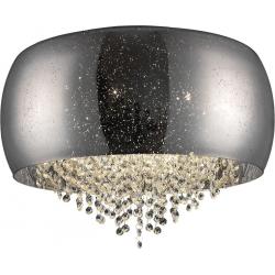 LAMPA SUFITOWA VISTA C0076-06K SILVER ZUMA LINE