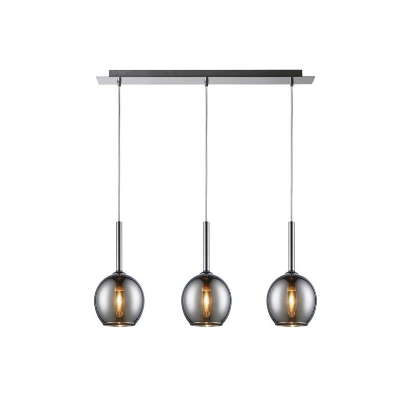 MONIC LAMPA WISZĄCA ZUMA LINE PENDANT MD1629-3A (CHROME)