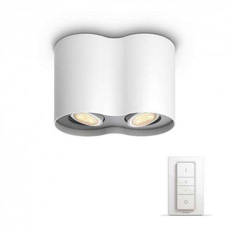 lampa nowoczesna ledowa PILLAR HUE 56332/31/P7 LAMPA SUFITOWA PHILIPS Z PILOTEM