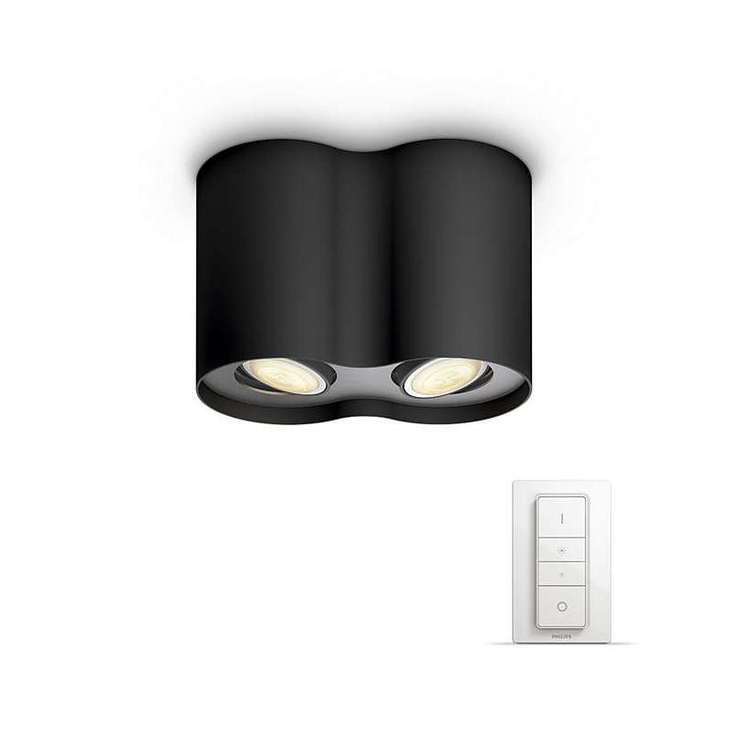 inteligentne oświetlenie HUE PILLAR HUE 56332/30/P7 LAMPA SUFITOWA PHILIPS Z PILOTEM
