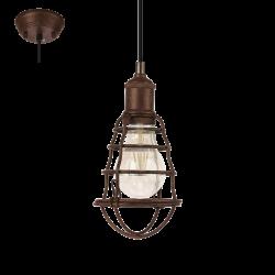 PORT SETON 49809 LAMPA WISZĄCA VINTAGE EGLO