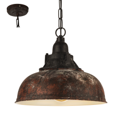 GRANTHAM 1 49819 LAMPA WISZĄCA VINTAGE EGLO