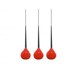 AGA 3 MD1289 3RD RED/BLACK LAMPA WISZĄCA AZZARDO