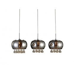 BURN 3 LINE LP5204-3P LAMPA WISZĄCA AZZARDO