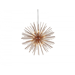 SIRIUS COPPER 110 DEL-6613-110 NOWOCZESNA LAMPA WISZĄCA AZZARDO