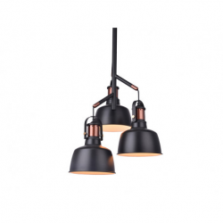 DARLING 3 BLACK MD50686-3 BK LAMPA WISZĄCA AZZARDO AZ2147