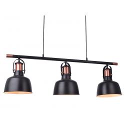 DARLING 3 BLACK LINE MD50686-3A LAMPA WISZĄCA AZZARDOAZ2144