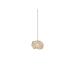 BARI 1, DEL-8348-1P LAMPA WISZĄCA AZZARDO