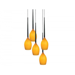 IZZA 5 MD1288-5AM Amber LAMPA NOWOCZESNA AZZARDO