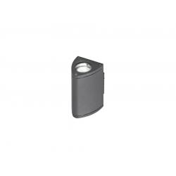 LUCA GM1102 KINKIET ZEWNĘTRZNY AZZARDO DARK GRAY