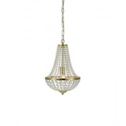 GRANSO 106118 LAMPA WISZĄCA ŻYRANDOL MARKSLOJD 30cm Złoty Szczotkowany
