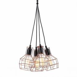 PERIFO LAMPA WISZĄCA MDM-2272/4 BK+COP ITALUX