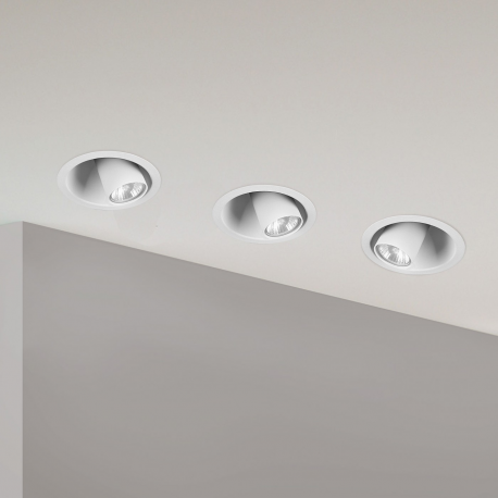 DOT white 9378 lampa oczko wpuszczane w sufit Nowodvorski Lighting