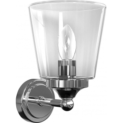 Lampa BALI transparent 9353 kinkiet nad lustro IP44 Nowodvorski Lighting