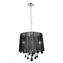 LAMPA WISZĄCA CORNELIA - MDM-2572/3 BK - ITALUX