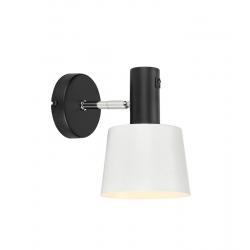 BODEGA 107216 LAMPA kinkiet nowoczesny Czarny/Biały MARKSLOJD