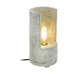 LYNTON 49111 LAMPA STOJĄCA BETONOWA VINTAGE EGLO