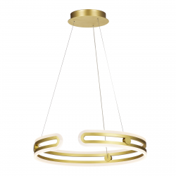 KIARA MD17016002-1E GOLD LAMPA WISZĄCA ITALUX