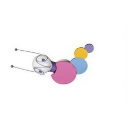RUBY - KINKIET / PLAFON MASSIVE KICO 30267/55/10