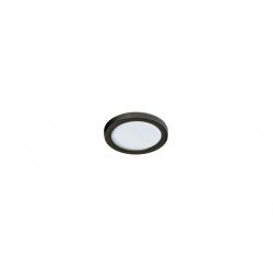 SLIM 9 ROUND 4000K BLACK IP44 AZ2835 LAMPA SUFITOWA PLAFON LED AZZARDO