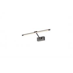 DAVINCI 58 BLACK CHROME KINKIET LED NAD LUSTRO AZZARDO AZ2655