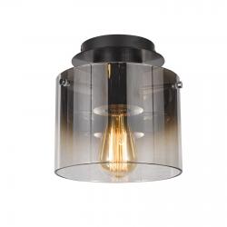 JAVIER LAMPA SUFITOWA, PLAFON  MX17076-1A BK  ITALUX
