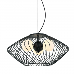 ZENO LAMPA WISZĄCA MDM-3845-3 BK ITALUX