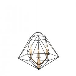 MARESMO - LAMPA WISZĄCA  PEN-6369-6-BKBR  ITALUX