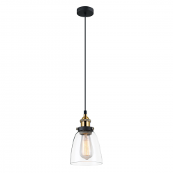LAMPA WISZĄCA FRANCIS - MDM-2563/1 GD+CL - ITALUX