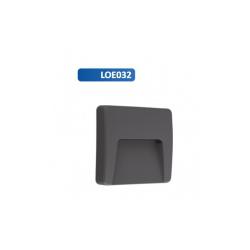 LOE032 - OPRAWA ELEWACYJNA ASTON 3W 4000K TYP 2 KWADRAT