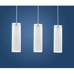 PINTO - LAMPA WISZĄCA POTRÓJNA EGLO - 89833