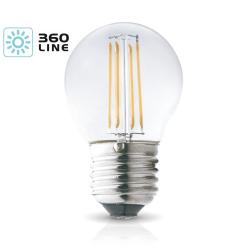 Żarówka LED E27 FMB 4W barwa 3000K 360 Line KOBI