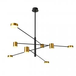 REMDAL  PND-16374-8 BK+GD  LAMPA WISZĄCA  ITALUX